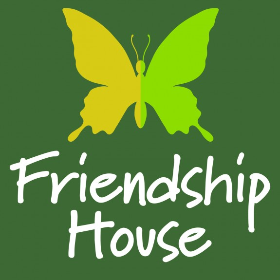 Friendship House Stamp Logo